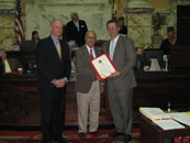 Dave Anand Honored by Maryland Senate